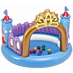 Надувной игровой центр INTEX Волшебный Замок, 130х91 см