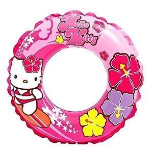 Надувной круг hello kitty, диаметр 61 см, от 6 до 10 лет