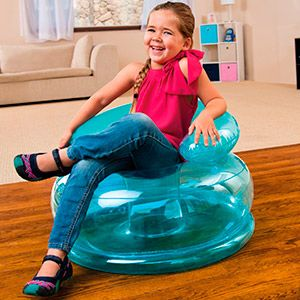Надувное кресло Intex Jr. Fun Chair, 66х42 см, от 3 до 8 лет
