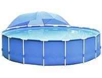 Купол для круглых каркасных бассейнов intex от 366 до 549 см