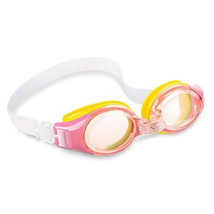 Очки для плавания Junior Goggles, розовые, от 3 до 8 лет