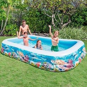 Надувной бассейн INTEX Морские Рыбки, 305х183х56 см, от 6 лет 58485