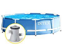 Бассейн каркасный Intex Prism Frame Pool, 305 х 76 см + фильтр-насос, INTEX