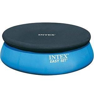 Тент для надувного бассейна intex easy set pool, диаметр, 457 см