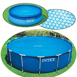 Обогревающее покрывало Solar Cover, диаметр 366 см INTEX, INTEX
