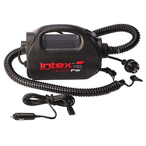 ������������� ����� quick-fill pump, 220-240 v/12 v, (400�/���) intex