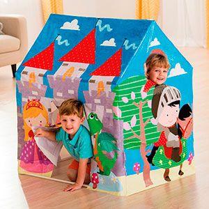 Детский игровой домик-коттедж intex, 95х75х107см, от 3 лет