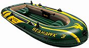 Надувная лодка intex seahawk-300, 295х137x43 см