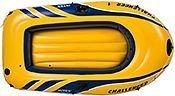 Надувная лодка intex одноместная challenger-1, 193х108х38 см