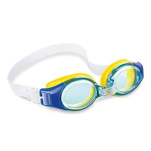 Очки для плавания Junior Goggles, синие, от 3 до 8 лет