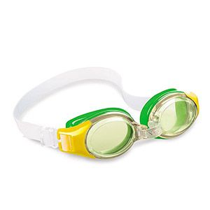 Очки для плавания Junior Goggles, зеленые, от 3 до 8 лет