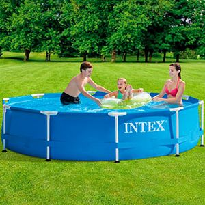 Бассейн  каркасный Intex Metal Frame Pool, 305х76см, INTEX