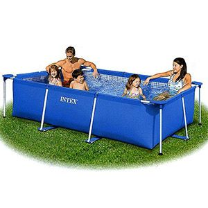 Каркасный бассейн Intex Rectangular Frame Pool, 220х150х60 см