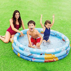Надувной бассейн intex в стиле disney винни пух, 147х33 см, от 3 до 6 лет