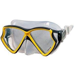 Маска для плавания intex silicone aviator pro mask, (асс. 2 цвета), от 8 лет