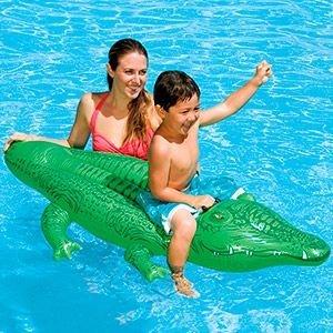 Надувная игрушка intex крокодил малый, 168 х 86 см