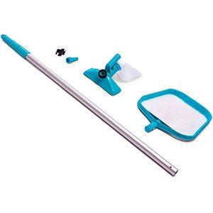 Набор для чистки бассейнов (сачок и вакуумный пылесос) intex