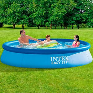 Надувной бассейн INTEX Easy Set Pool, 366 х 76 см, INTEX