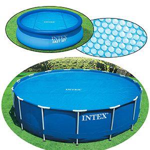 Обогревающее покрывало Solar Cover, диаметр 244 см INTEX, INTEX