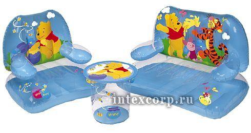 a8e76bc3935a Набор детской надувной мебели Винни (кресло, диван, стол) 3-8лет ...