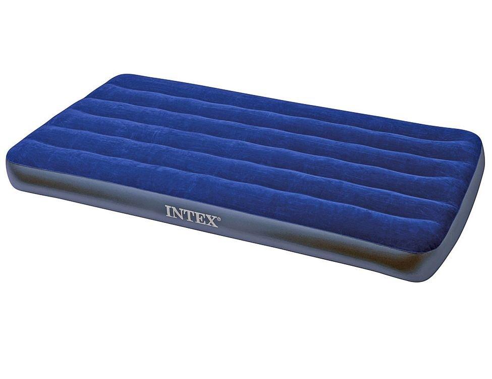 Двуспальный надувной матрас intex 68926 comfort-top bed (без насоса) baby fusion 90 х 200 матрас