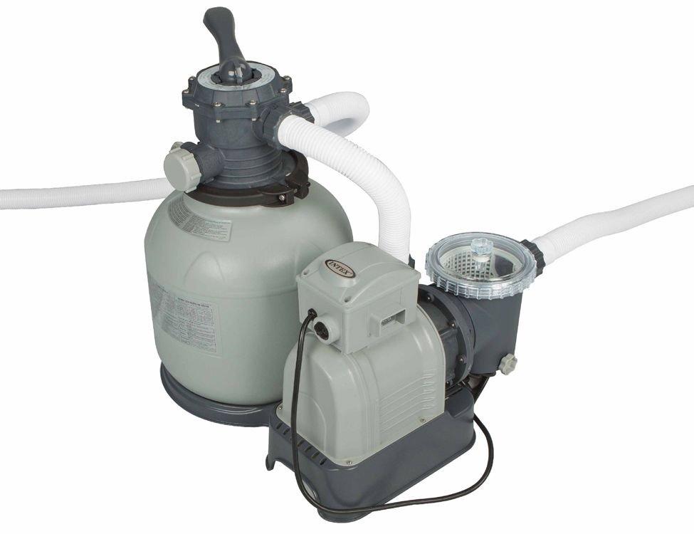 7be3933c37f3 Фильтр-насос электрический с песочным фильтром INTEX, 220-240V, 7900 л/час
