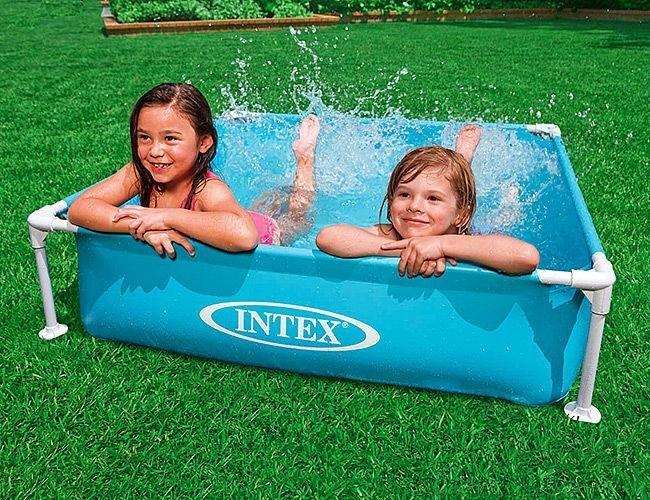 Маленький каркасный бассейн Intex
