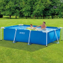 Бассейн каркасный Intex Rectangular Frame Pool, 260х160х65см